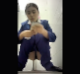 A pretty Asian girl takes a piss and shit into a public floor toilet while a hidden camera captures the action clearly. 720P vertical HD format video. Over 2 minutes.